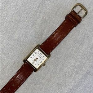 Coach Brown Leather Watch